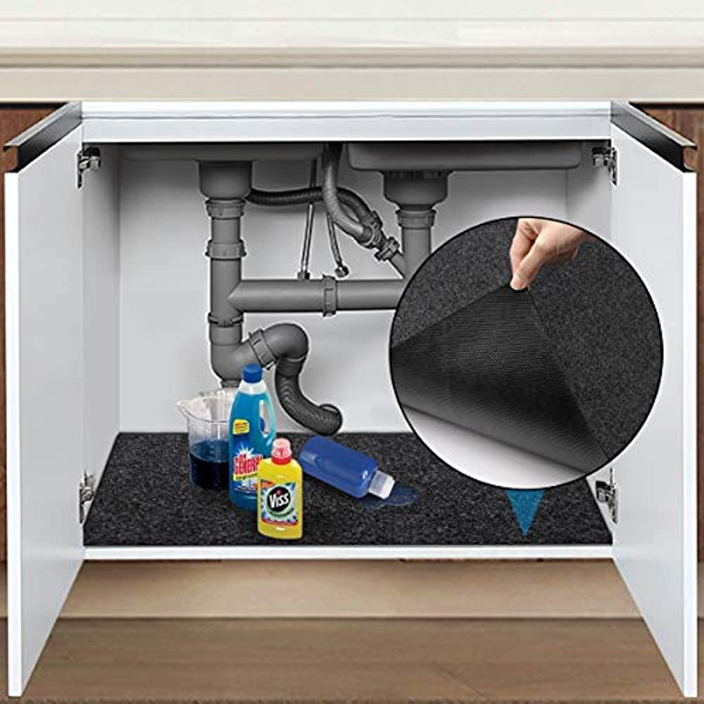 Under UnderSink Organizers Sink Mat, 24x36 PVC Layer ...