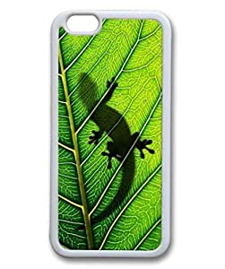 Case For Sam Sung Note 3 Cover , Cute Fancy lizard on the green leaf Pattern Hard Back eQKGDAGHJpY Fit for iphone6 Inch