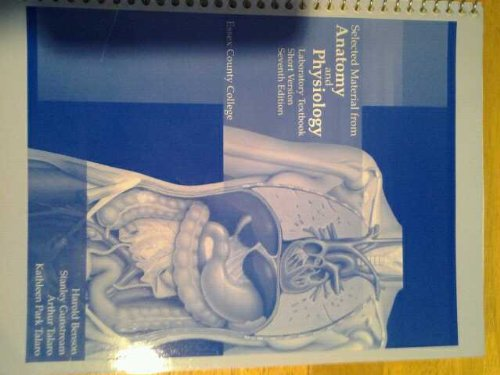 Anatomy and Physiology. Lab Textbook. Essex County College
