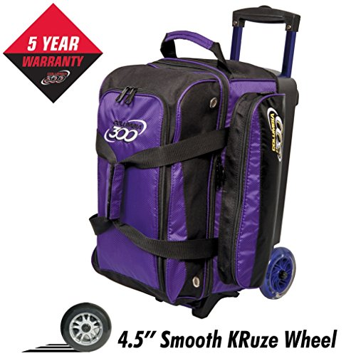 Columbia 300 Columbia Icon Double Roller Bowling Bag, Purple