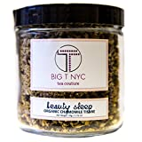 BIG T NYC Beauty Sleep Organic Chamomile Tea Tisane Loose Leaf Herbal Tea (50 Grams)