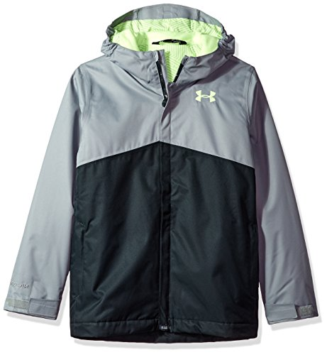 Under Armor Boys' Storm Freshies Jacket, Steel/Anthracite, Youth Large by Under Armour