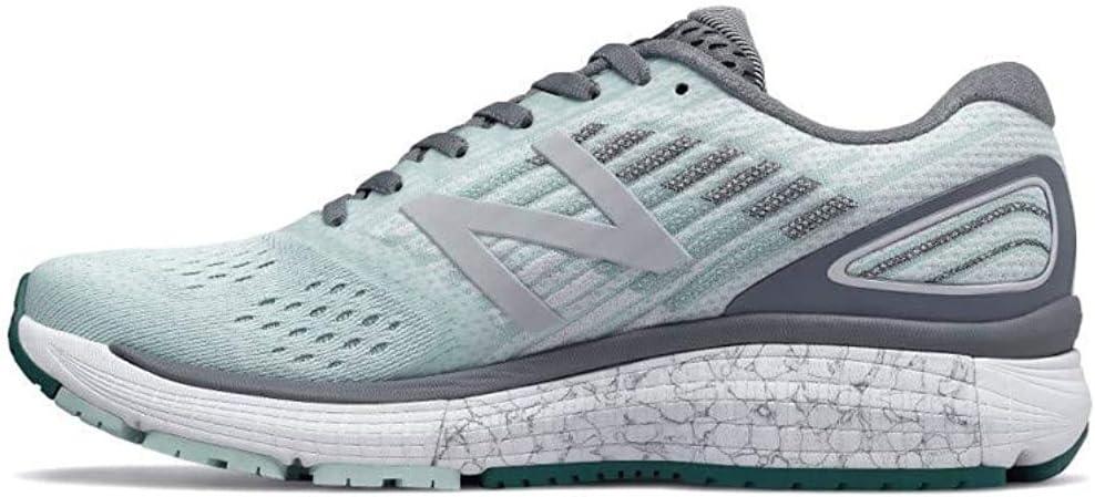 New Balance 860v9 - Zapatillas de correr para mujer, ancho B, color verde, color Azul, talla 41.5 EU: Amazon.es: Zapatos y complementos