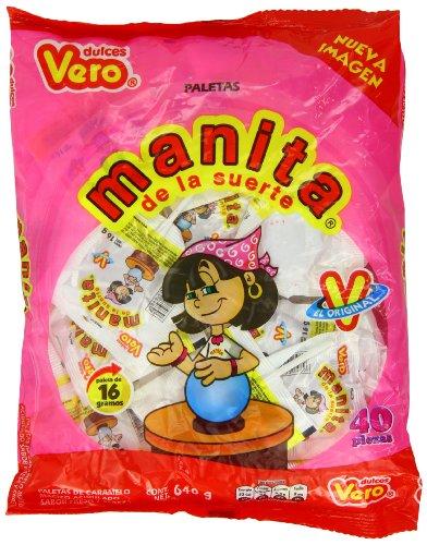 Vero Manita Candy, 40 pieces
