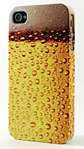 Frosty Glass Of Coors Beer Dimensional Case Fits iPhone 4 or iPhone 4s