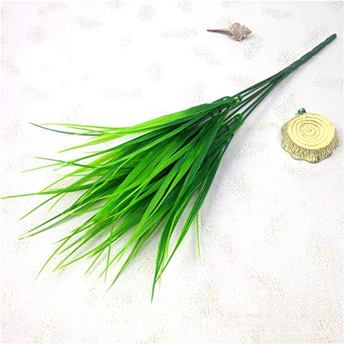Seed Fashion Artificial Fake Plastic Green Grass Plant Flowers Home Decor Bonsai Gardening Floral Decoration Simulation Flowers -