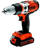 Black and Decker EGBHP188K-QW - Taladro sin cable percutor (454 W, 18 V)