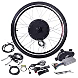 26'' 48V 1000W Ebike Front Wheel Electric Bicycle Motor Conversion Kit Motor Hub