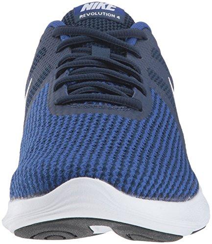 4 Deep Navy Revolution Midnight Royal Running Men's Nike Shoe White qEvOY