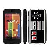 Cheap NES Video Game Controller – Mobiflare Motorola Moto G (GSM 1st gen) Slim Guard Armor Black Phone Case