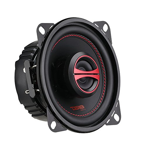 Pair Speaker Grills - DS18 GEN-X4 4 Inch 120 Watts 2-Way Coaxial Speakers with Mesh Grills 4-Ohms - sold As A Pair of 2