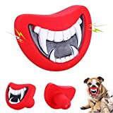 NNDA CO Funny Pet Dog Teeth Vinyl Toy Chew Squeaky Sound Puppy Dogs Play Training Toys