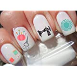 56 Sewing Nail Decals