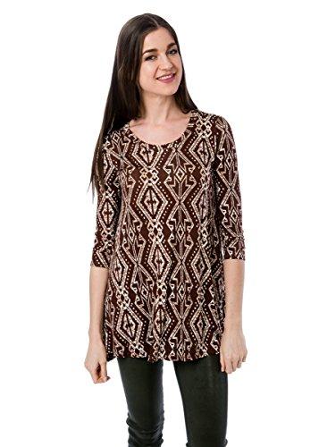 Frumos Womens Tunic Sleeve Round product image