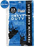Koola Buck Heavy Duty, Double-Stitched, Tightly Woven, Durable Cotton/Polyester Blend Form Fitting, Hunting Game Bags, 50-, 60-, and 72-Inch Full Body and Quarter Bags