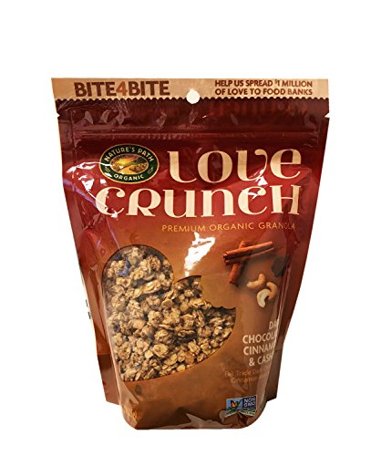 Granola Cinnamon Crunch (Love Crunch Premium Organic Granola 1 Pack 11.5oz (Dark Choco Cinnamon Cashews))