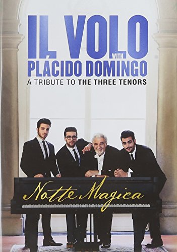 DVD : Notte Magica: Tribute to Three Tenors (Live) (Hong Kong - Import, NTSC Region 0)
