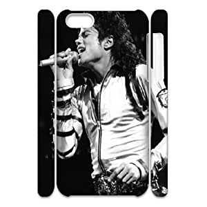 3D Tyquin Michael Jackson. the Greatest in History IPhone 5C Case for Teen Girls, Phone Case for Iphone 5c for Girls [White]