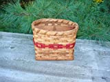 Amish Handmade Silverware Basket. This Amish Country Handmade Basket Is Such a Unique Addition to Your Country Kitchen Decor. Holds All Your Silverware in a Organized Fashioned While Adding the Perfect Charm to Your Country Kitchen Decor. Colors May Vary