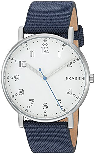 Skagen-Mens-SKW6356-Signatur-Blue-Nylon-Watch