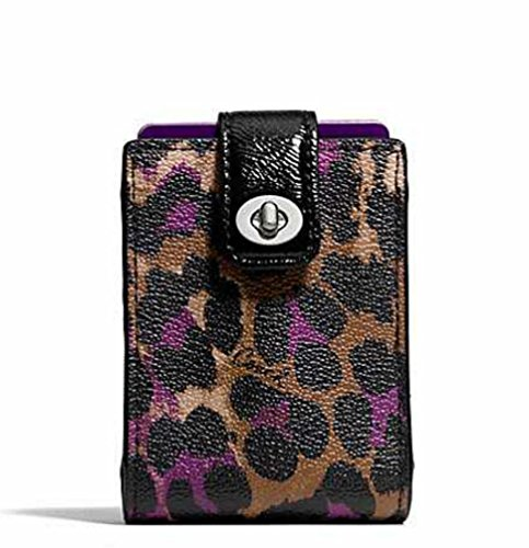 coach-violet-ocelot-print-card-carrying-case-w-matching-deck-of-cards