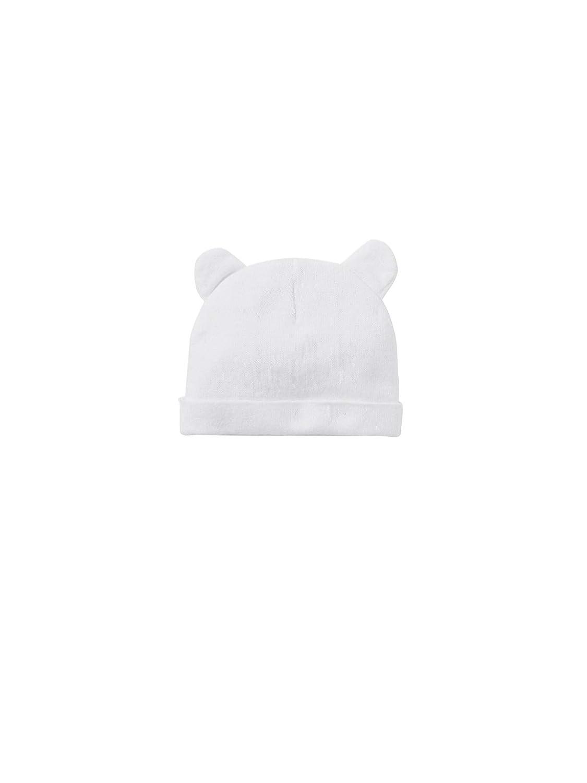 2b025feebf1e VERTBAUDET Bonnet bébé et moufles en maille coton bio Blanc 3 6M - 60 67CM   Amazon.fr  Bébés   Puériculture