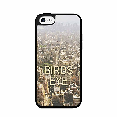 Birds Eye View 2-Piece Dual Layer Phone Case Back Cover iPhone 4 4s includes BleuReign(TM) Cloth and Warranty Label