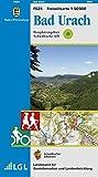 Bad Urach: Biosphärengebiet Schwäbische Alb - Karte des Schwäbischen Albvereins (Freizeitkarten 1:50000 / Mit Touristischen Informationen, Wander- und Radwanderungen)