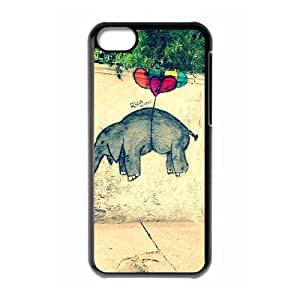 Graffiti Phone Case For Iphone 5C [Pattern-1] by supermalls