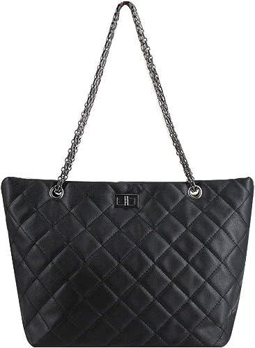 Ladies Large Fashion Tote Handbags Women/'s Faux Leather Designer Bags