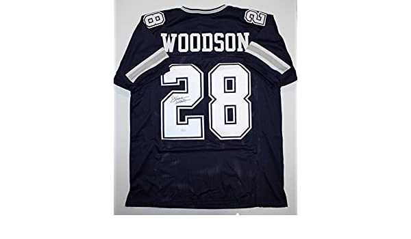 Darren Woodson Autographed Blue Dbl Stitch Pro Style Jersey 2- JSA Witness  Authenticated at Amazon s Sports Collectibles Store dbdfd9f2e