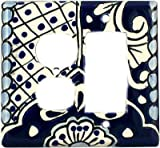 Decora-Outlet Traditional Talavera Switch Plate