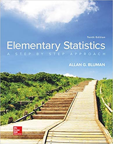 Elementary Statistics: A Step By Step Approach by Bluman