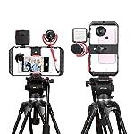 ULANZI U Rig Pro Smartphone Video Rig, Filmmaking Case, Phone Video Stabilizer Grip Tripod Mount for Videomaker Film-Maker Video-grapher for iPhone Xs XS Max XR iPhone X 8 Plus Samsung 7