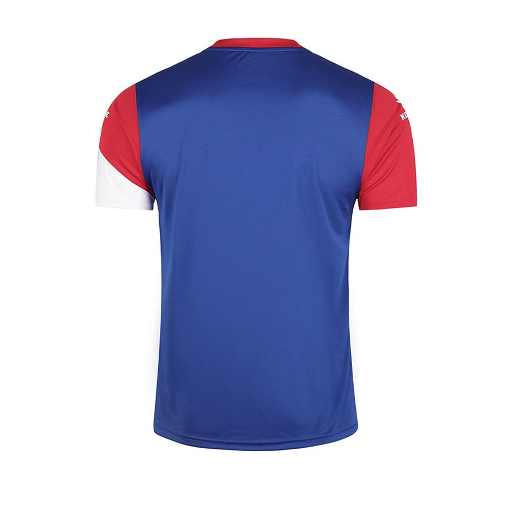 KELME Camiseta de fútbol de Manga Corta Equipo Traning Placa Uniforme