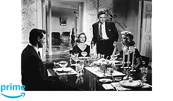GLOSSY PHOTO PICTURE 8x10 Lauren Bacall With Rock Hudson And Dorothy Malone Happ