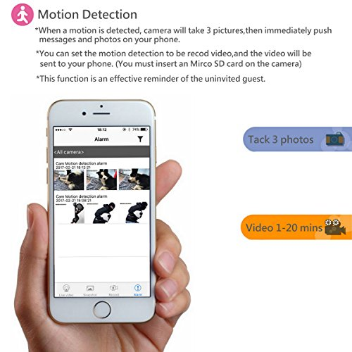 nanny cam iphone enklov 1080p hd wifi mini security with 12673