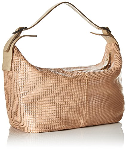 LiliMill Lucy - Bolso tipo baguette Mujer Braun (Braun (BRICK))