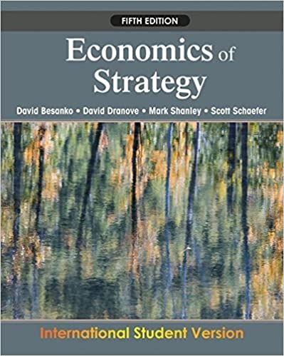 Economics of Strategy by David Besanko (2009-11-13)