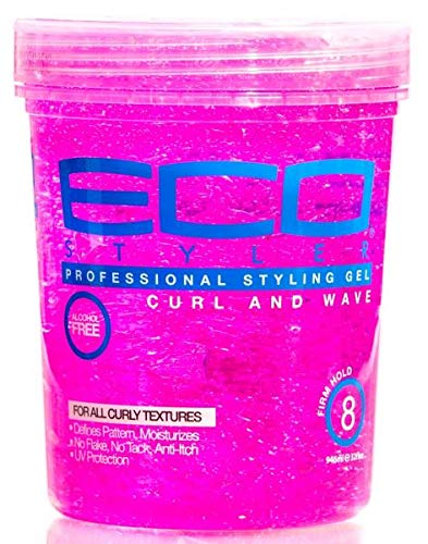 - ECOCO Eco Style Gel, Pink, 32 Ounce