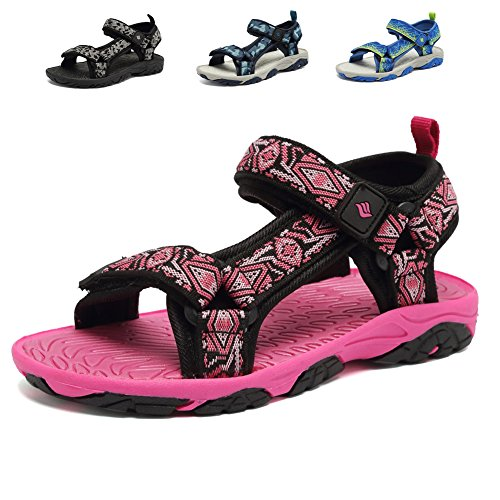 Image of CIOR Fantiny Girl's Boy's Sports Sandals Open Toe Athletic Beach Shoes (Toddler/Little Kid/Big Kid)