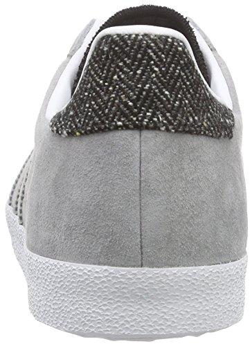 Og Ginnastica Scarpe Solid White ch Adulto Da ftwr Adidas Grey Grigio Unisex Gazelle Grey ch grau E5wAvqI