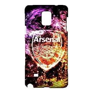 3D Arsenal Phone Case Cover for Samsung Galaxy Note 4,Fashion Popular FC Arsenal Team Logo Custom Premium Samsung Galaxy Note 4 Case