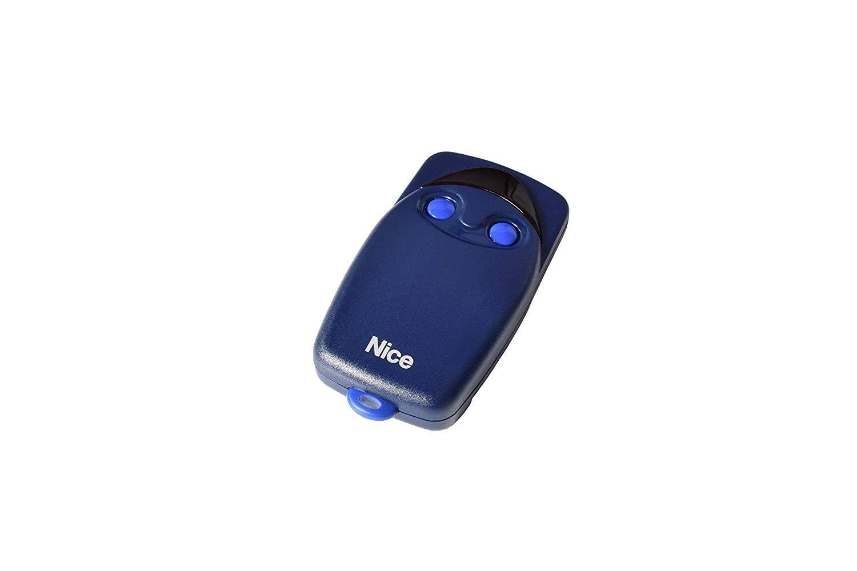 Mando a Distancia frecuencia 433,920 MHz Azul Nice Flo2 41 x 98 x 25 mm