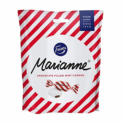 Fazer Marianne Chocolate Filled Mint Candies Imported From Finland 7.76oz(220g) from Fazer