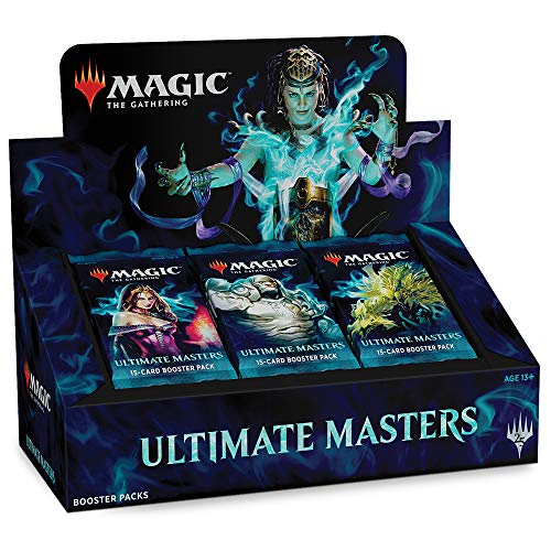 Magic: The Gathering Ultimate Masters Booster Box | 24 Booster Packs (360 Cards) | 1 Special Box-Topper Card (Magic The Gathering Modern Masters Booster Box)