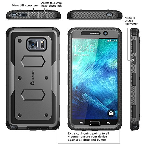 Galaxy Note 5 Case I Blason Armorbox Dual Layer Hybrid