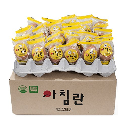 ACHIM Egg, 15 packs Bulk (15 individual packs) - Pure and Steamed egg, Wrapped Individually, Nutritious, Protein Supplement by ACHIM (Image #3)