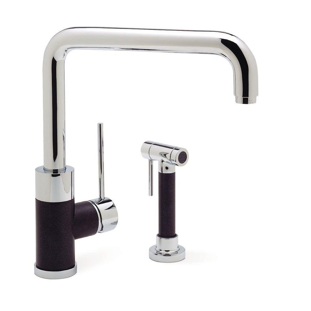 Blanco 440602 Purus I Kitchen Faucet with Side Spray, Anthracite ...