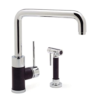 Blanco 440602 Purus I Kitchen Faucet with Side Spray Anthracite - Touch On Kitchen Sink Faucets - Amazon.com  sc 1 st  Amazon.com & Blanco 440602 Purus I Kitchen Faucet with Side Spray Anthracite ...